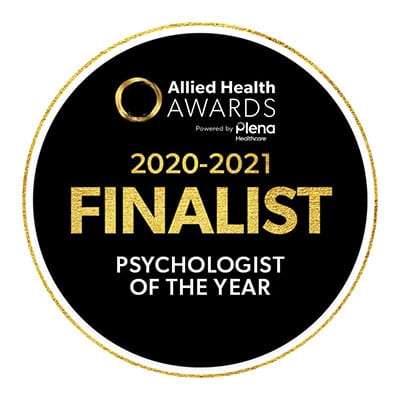 Psychologist of the Year 2020-2021 Finalist